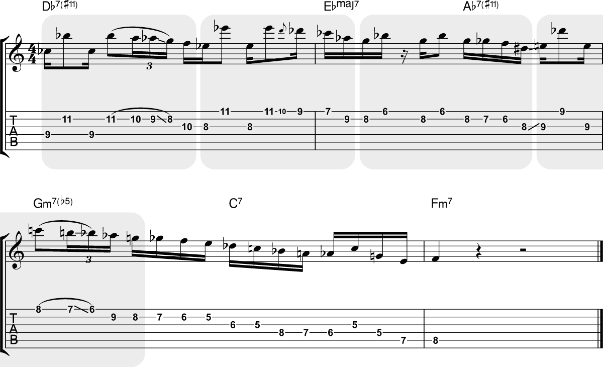Gilad Hekselman - My Ideal (3.56) - Transcribed by Mark McKnight